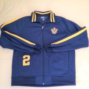 Ralph Lauren Polo Track Jacket Full Zip Size Large